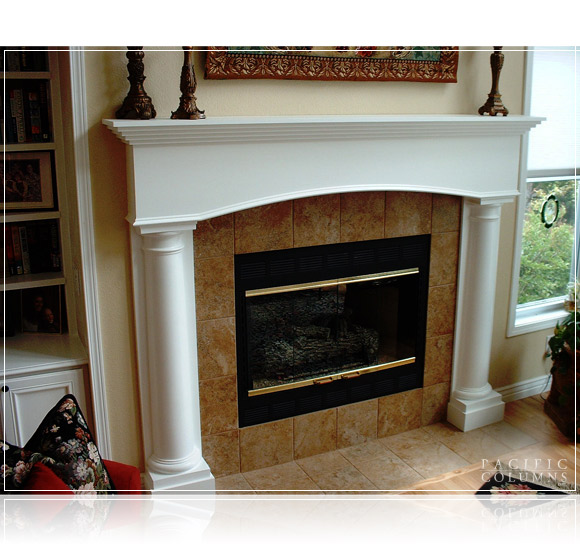 Fireplace Application Gallery - Pacific Columns, Inc. (800) 294-1098