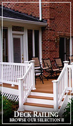 Deck Railing by Pacific Columns